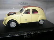 1:43 Norev Citroen 2CV 4x4 Sahara 1961 Panama Yellow/Gelb Nr. 150011 in OVP