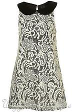 Collar Sleeveless Lace Topshop Dresses for Women