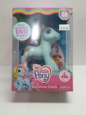 My Little Pony Rainbow Dash Figure with Dvd 25th Birthday Celebration New Clean
