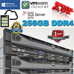 Dell PowerEdge R630 2x E5-2670v3 2.30Ghz 12Core 256GB DDR4 H730 Mini 8TB SAS 6G