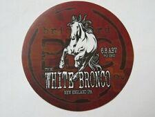 Bier Aufkleber ~ Ziegelei Gär Co Weiß Bronco New England Ipa ~ Lewiston, Ny