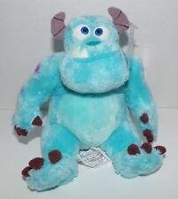 "Monsters Inc. Sulley Mini Bean Bag Plush 6"" Disney Store Exclusive NWT RARE HTF"