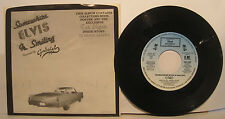 """Elvis Tribute Record """"Somewhere Elvis is Smiling"""" by Gabriel - NM 45 w/ PS"""