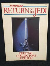 Star Wars Return Of The JEDI Official Movie Program Collectors Edition 1983