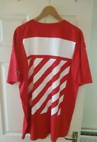 Off White Spray Paint T Shirt Mens Champion Size 2 XL.  Brand New 100% Authentic