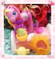 My Little Pony G3 BABY Pink Sunsparkle Celebration Castle 2003 Tutu Skirt Hasbro