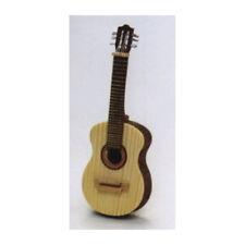 Liebe HANDARBEIT 46059 Miniatura Guitarra Madera 1:12 para casa de muñecas 840 #