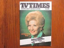 August 16, 1980 TV Times TELE-VUE(CHARLOTTE  RAE/THE FACTS OF LIFE/LISA WHELCHEL