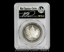 2019 Proof Silver Maple Leaf PCGS PR70 FDOI - Pride of Two Nations - POP 7!