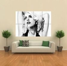 LADY GAGA BLACK AND WHITE NEW GIANT ART PRINT POSTER PICTURE WALL G1182