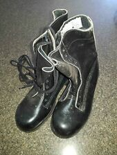 "Australian Army Vietnam Era Style Black GP Boots size 4/6 - by ""Plus 50"" - NEW"