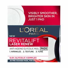 Loreal Revitalift Laser Renew Anti-Ageing Glycolic Peel Pads 30