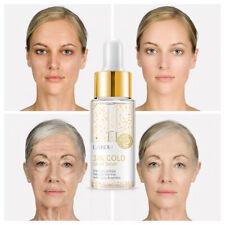 24K Gold Snail Serum Anti Wrinkle Collagen Hyaluronic Acid Skin Care Firm