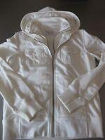 TCM Damen Blouson Jacke 2 in 1 mit Kapuze Weiß Gr. 36/38, wunderschön,Samtfutter