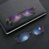 Reading Glasses Diamond-cut Progressive Multifocal Presbyopia Eyeglasses Stylish