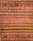 Hand-knotted Rug (Carpet) X9'8Rug, Khorjin mint condition