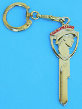 Vintage Mercury Messenger Yellow Gold Silhouette Ignition Key 1952 - 1958