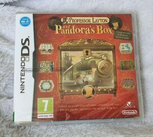 Professor Layton and Pandora's Box (Nintendo DS, 2009) - FACTORY SEALED