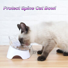 Food Dish Pet Supplies Cats Bowl Cat Ears Shaped Protect The Spine Pet Feeder