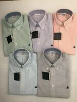 NWT BROOKS BROTHERS 1818 MEN L/S ORIGINAL POLO NON IRON SUPIMA SHIRT S_2XL $79.5