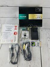 Fujifilm FinePix J Series J10 8.2 MP Digital Camera Silver euc