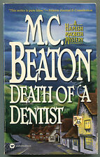 M C Beaton DEATH OF A DENTIST Hamish Macbeth 13 First Printing