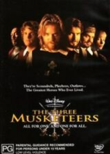 Three Musketeers Disney (Sutherland Sheen) New DVD R4