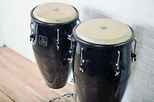 LP Aspire congas set with stand in excellent condition-drums for sale