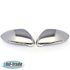 1Set Edelstahl Spiegel Kappen für VW Golf VII 7 3D 5D Sportsvan Alltrack Touran