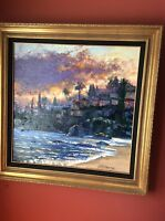 "Howard Behrens Original Oil Painting ""After the Storm"""