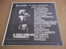 Blondie – At The Starwood (1978) rare live LP Not Tmoq SEALED