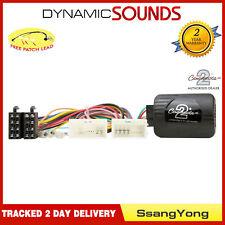 CTSSY006.2 Volante Adaptador de Botones de Palanca para Ssangyong Tivoli 2015>