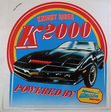 Aufkleber KNIGHT RIDER Darda Motor KITT David Hasselhoff 80er Jahre Sticker
