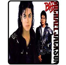 New Rare MJ BAD Michael Jackson Fleece Blanket Bed Gift