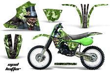 83-85 Kawasaki KX125 Graphic Kit AMR Racing Bike Decal Sticker Kawi Parts HATTER