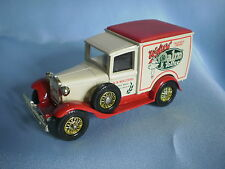 MATCHBOX MODELS OF YESTERYEAR Y-21 1930 FORD MODEL A VAN - WALTERS' PALM TOFFEE