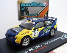SEAT CORDOBA WRC EVO3 #21 CAÑELLAS RALLY CATALUNYA 2001 1/43 ALTAYA