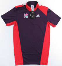 NEW NWT LONDON 2012 PARALYMPIC GAMES ADIDAS S/S ATHLETIC POLO SHIRT OLYMPIC XS