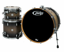 PDP Concept Series 3-Piece Maple Shell Pack - Satin Charcoal Burst