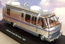 IXO/ATLAS 1/43 1981 AIRSTREAM EXCELLA 280 TURBO CAMPER VAN/RV/MOTORHOME SILVER
