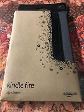 NIB-Genuine Amazon Zip Sleeve for Kindle Fire Cover Case Graphite