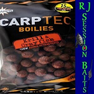 Dynamite Baits Krill & Crayfish 15mm Session Pack of 25 Boilies
