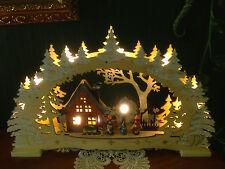 3D LED Schwibbogen Lichterbogen Erzgebirgische Tradition 84023 SCH