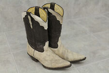 The African Boot Company Exotic Upper Cattle Fur Boots Size 25/26 Made In Mexico