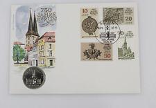 DDR Numisbrief 5 Mark Nikolai Viertel 750 Jahre Berlin