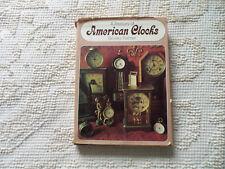 1967 A Treasury of American Clocks By Brooks Palmer Hard cover