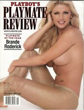 PLAYBOY'S Playmate Review MAGAZINE Brande Roderick September 2001