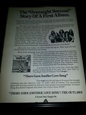 The Outlaws There Goes Another Love Song Rare Original Promo Poster Ad Framed!