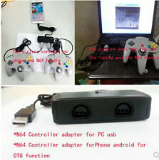 Adapter For N64 2 Player Controller To Steam/Android/PC/MAC OTG USB Factory