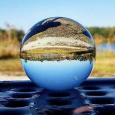 Clear Glass Crystal Ball Healing Sphere Photography Photo Props Gifts